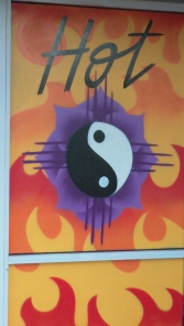 yoga energy's hot yin yang