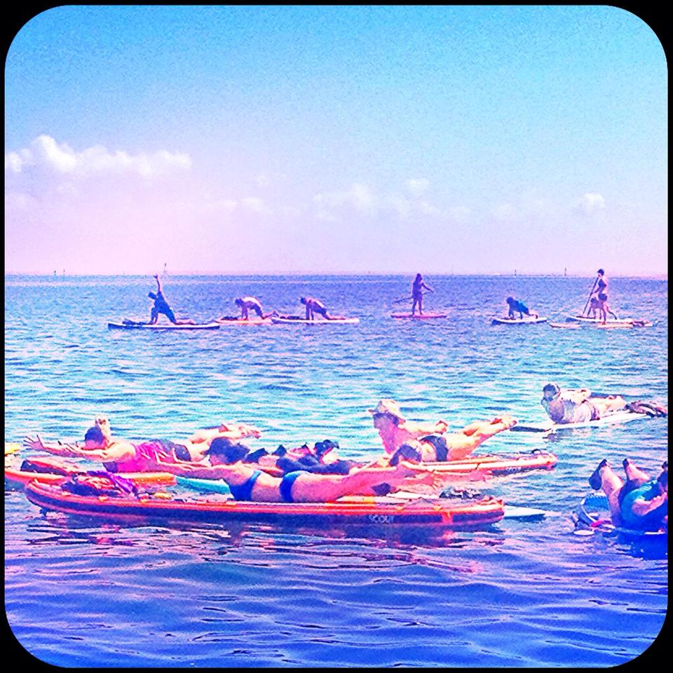 sup & yoga therapy instructor training