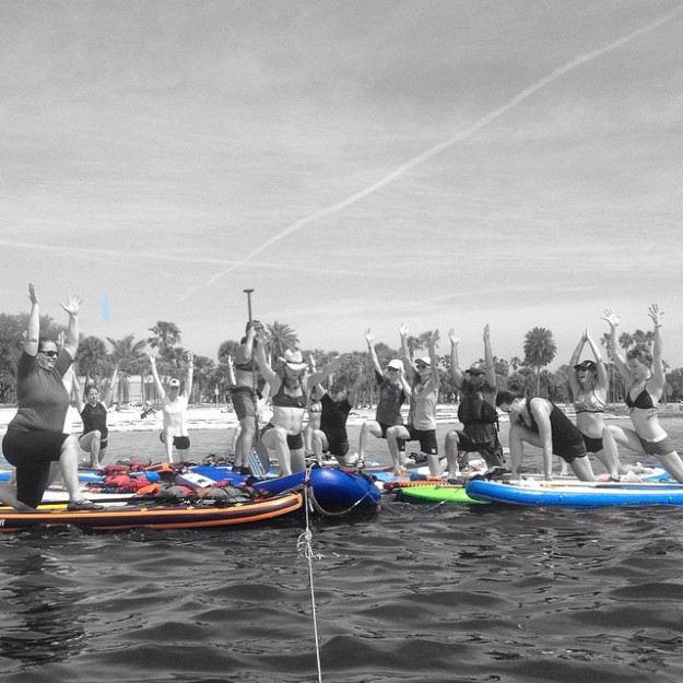 stand up paddle & yoga therapy