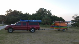 Stand Up Paddle Tampa Truck